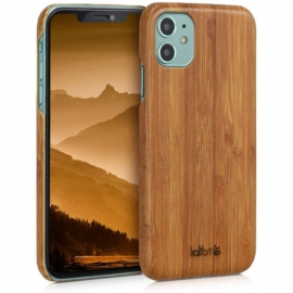 kalibri Wood Case Slim Hard Cover with Real Wooden Finish Apple iPhone 11 - Light Brown (49796.83)