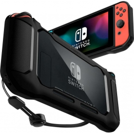 Spigen Rugged Armor Nintendo Switch - Black (ACS01228)