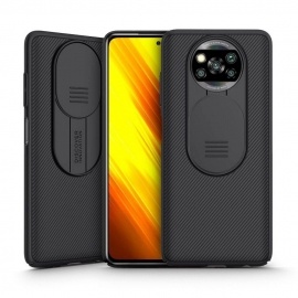 Nillkin Camshield Back Cover with camera protection Xiaomi Poco X3 NFC - Black