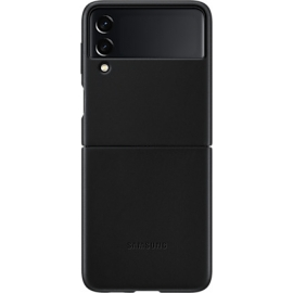 Samsung Leather Cover Galaxy Z Flip 3 5G Black
