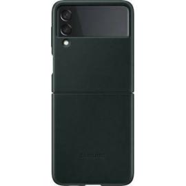 Samsung Leather Cover Galaxy Z Flip 3 5G Green