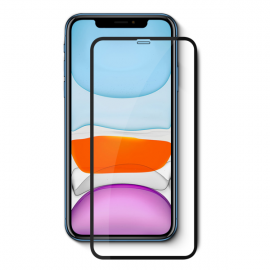 Vivid Full Face Tempered Glass iPhone XR/11 Black