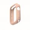 Uniq Lino Silicone Case Apple Watch Series 4/5/6/SE (44mm) - Blush Pink (UNIQ-44MM-LINOPNK)