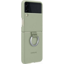 Samsung Silicone/Ring Cover Galaxy Z Flip 3 5G Olive Green