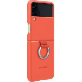 Samsung Silicone/Ring Cover Galaxy Z Flip 3 5G Coral