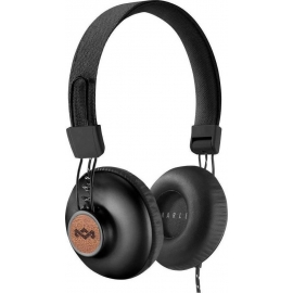 House of Marley Wired Headphones Positive Vibration 2 Signature Black