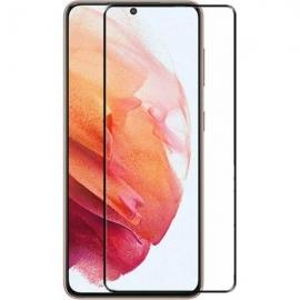 Vivid Full Face Tempered Glass Samsung Galaxy S21 - Black (VITEMP158BK)