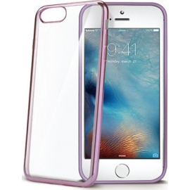 Celly Cover Case Laser iPhone 7/8 Plus Rose Gold