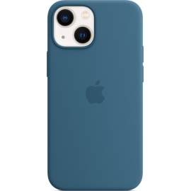 Apple Silicone Case iPhone 13 mini with MagSafe Blue Jay