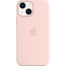 Apple Silicone Case iPhone 13 mini with MagSafe Chalk Pink