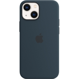 Apple Silicone Case iPhone 13 mini with MagSafe Abyss Blue