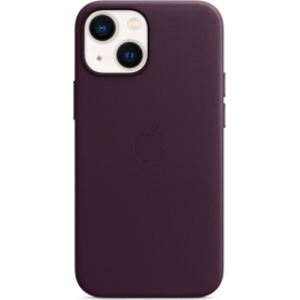 Apple Leather Case iPhone 13 mini with MagSafe Dark Cherry
