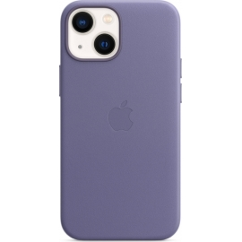 Apple Leather Case iPhone 13 mini with MagSafe Wisteria