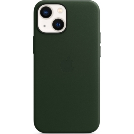Apple Leather Case iPhone 13 mini with MagSafe Sequoia Green