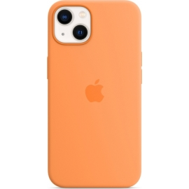 Apple Silicone Case iPhone 13 with MagSafe Marigold