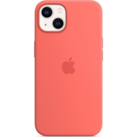 Apple Silicone Case iPhone 13 with MagSafe Pink Pomelo