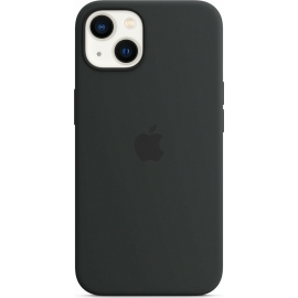 Apple Silicone Case iPhone 13 with MagSafe Midnight