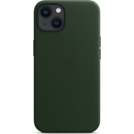 Apple Leather Case iPhone 13 with MagSafe Sequoia Green