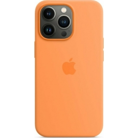 Apple Silicone Case iPhone 13 Pro with MagSafe Marigold