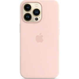 Apple Silicone Case iPhone 13 Pro with MagSafe Chalk Pink