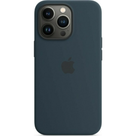 Apple Silicone Case iPhone 13 Pro with MagSafe Abyss Blue