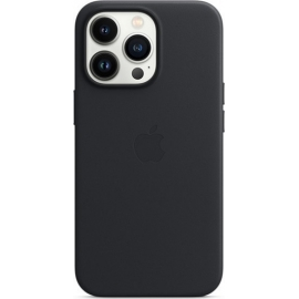 Apple Leather Case iPhone 13 Pro with MagSafe Midnight