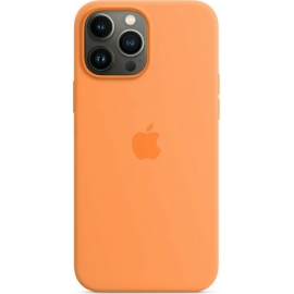 Apple Silicone Case iPhone 13 Pro Max with MagSafe Marigold