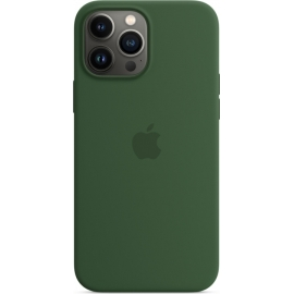 Apple Silicone Case iPhone 13 Pro Max with MagSafe Clover
