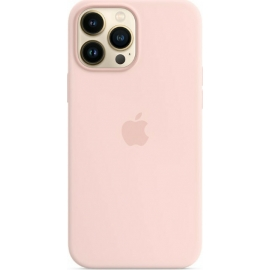Apple Silicone Case iPhone 13 Pro Max with MagSafe Chalk Pink
