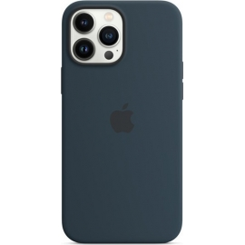 Apple Silicone Case iPhone 13 Pro Max with MagSafe Abyss Blue