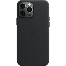 Apple Leather Case iPhone 13 Pro Max with MagSafe Midnight