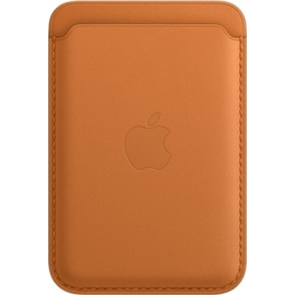 Apple Leather Wallet iPhone with MagSafe Golden Brown