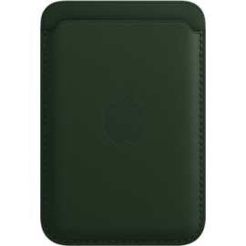 Apple Leather Wallet iPhone with MagSafe Sequoia Green