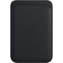 Apple Leather Wallet iPhone with MagSafe Midnight