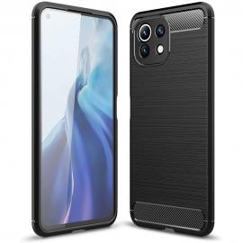 Tech-Protect TPU Carbon Case Xiaomi Mi 11 Lite - Black