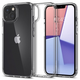 Spigen Ultra Hybrid iPhone 13 - Crystal Clear (ACS03522)