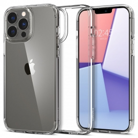 Spigen Ultra Hybrid iPhone 13 Pro Max - Crystal Clear (ACS03204)