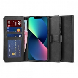 """Tech-Protect Wallet """"2"""" Case Stand iPhone 13 - Black"""