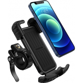 Ugreen cycling Mount Phone Holder (Applicable for bicycle and Motorcycle) -Black (60548)