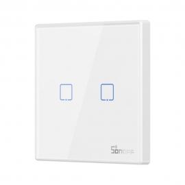 Sonoff T2EU2C-RF Sticky Wireless Smart Wall Switch (2-channel)