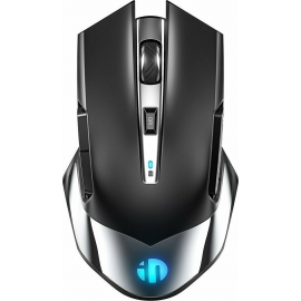 Inphic M606 Wireless Mouse - Black/Silver
