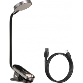 Baseus Comfort Reading Mini Clip Lamp Dark Gray