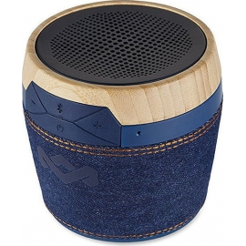 House of Marley Bluetooth Speaker Chant Mini Denim