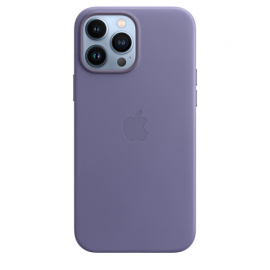 Apple Leather Case iPhone 13 Pro Max with MagSafe Wisteria