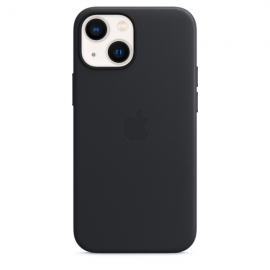 Apple Leather Case iPhone 13 mini with MagSafe Midnight