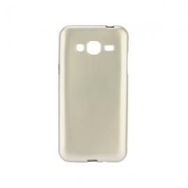 OEM Jelly Case Flash Mat Samsung Galaxy J3/ J3 2016 - Gold
