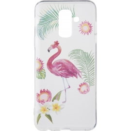 OEM Forcell Summer FLAMINGO case Samsung A6 Plus 2018