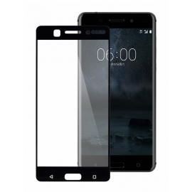 OEM Tempered Glass 3D Full Face Nokia 6 - Black