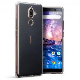 Terrapin Διάφανη Θήκη Σιλικόνης Nokia 7 Plus - Clear