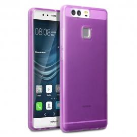 Terrapin Ημιδιάφανη Θήκη Σιλικόνης Huawei P9 - purple